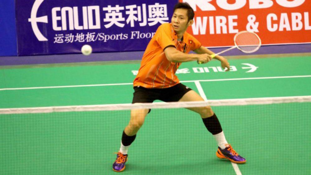 Nguyễn Tiến Minh ngược dòng vào tứ kết giải cầu lông quốc tế Singapore